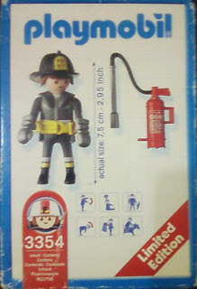 Playmobil 3354-usa - F.D.N.Y. Fire Fighter - Back