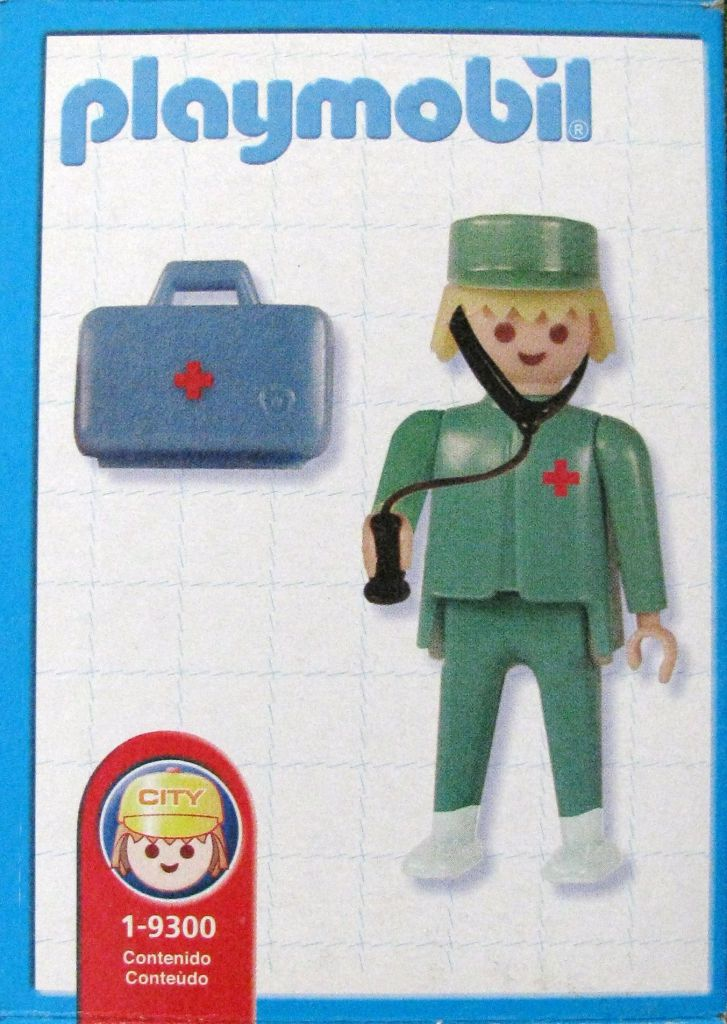 Playmobil 1-9300-ant - doctor - Back