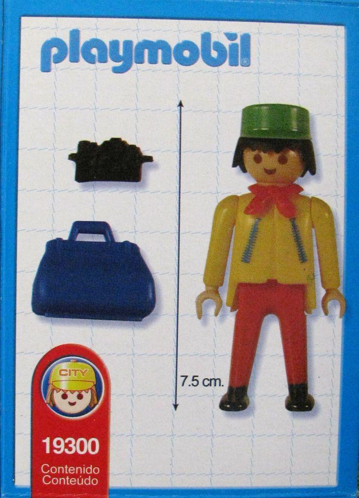 Playmobil 19300-ant - tourist - Back