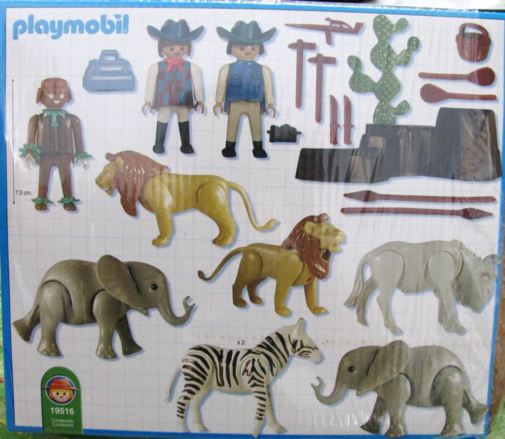 Playmobil 19516-ant - African Safari - Back
