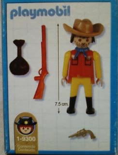 Playmobil 1-9300-ant - Bandit - Back