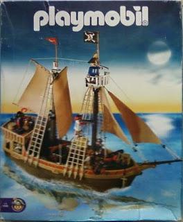Playmobil 1-3750-ant - pirate ship - Box