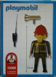 Playmobil 19300-ant - Fireman - Back