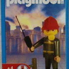 Playmobil - 19300-ant - Fireman