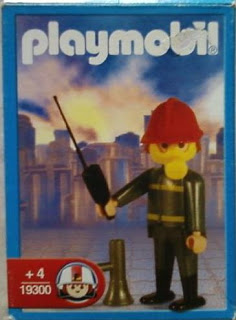 Playmobil 19300-ant - Fireman - Box
