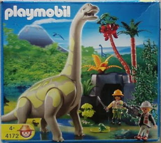 Playmobil 4172 - Brachiosaurus - Box