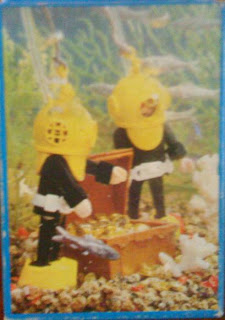 Playmobil 3348v1-esp - Hard-Hat Diver (Yellow/Black) - Back