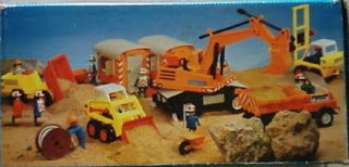 Playmobil 3476-ant - moving truck - Back