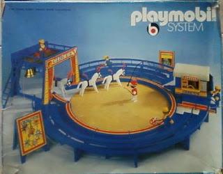 Playmobil 3510 - Circus Arena Blue - Caja