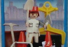 Playmobil - 9604-ant - Road worker