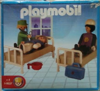 Playmobil 1-9537-ant - Hospital Room - Box