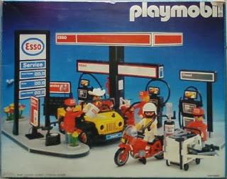 Playmobil 3434v1-esp - Esso Gas Station - Box