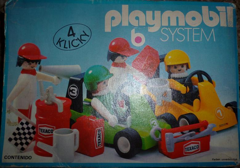 Playmobil 3523 - 2 Go-Karts - Box