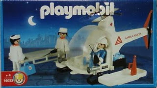 Playmobil - 16033-ant - Helicopter ambulance