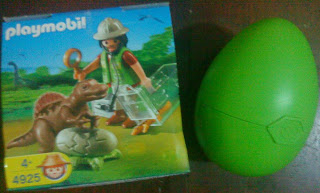 Playmobil 4925 - Scientist with Baby Dinosaur - Box