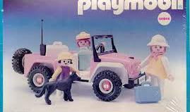 Playmobil - 3940v1-ant - Pink Jeep
