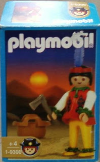 Playmobil 1-9300-ant - Indian woman - Box