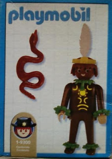 Playmobil 1-9300-ant - Indian - Back