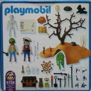 Playmobil 5728-usa - Treasure Island - Back