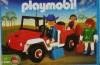 Playmobil - 1-3940-ant - Jeep rouge & famille
