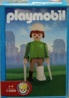 Playmobil 1-9300-ant - Man on crutches - Box
