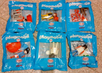 Playmobil - Promocionales Esso Argentina