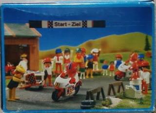 Playmobil 3303 - Racing Motorcycle - Back