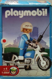 Playmobil 1-3564v2-ant - Police bike - Box