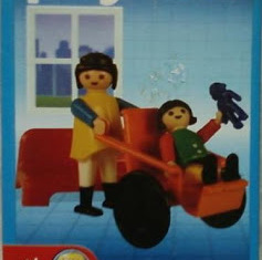 Playmobil - 9539-ant - Girl in wheelchair