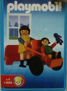 Playmobil 9539-ant - Girl in wheelchair - Box