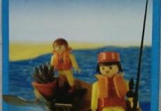 Playmobil - 1-9605-ant - Angler und Sohn