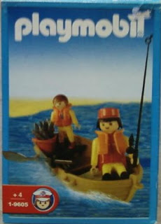 Playmobil 1-9605-ant - Fisherman and Son - Boîte