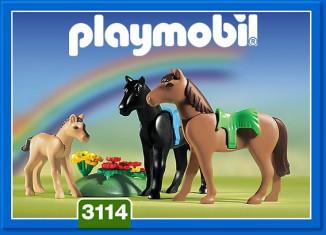 Playmobil - 3114s2 - Horses & Foals