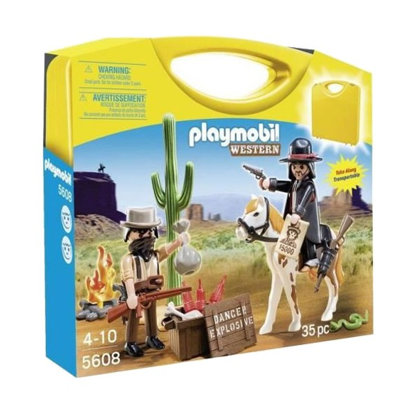 Playmobil 5608 - Carrying Case Western - Box