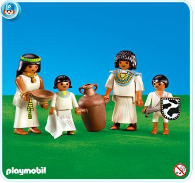 Playmobil 7386 - Egyptian Family - Box