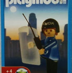 Playmobil - 19300-ant - Police woman
