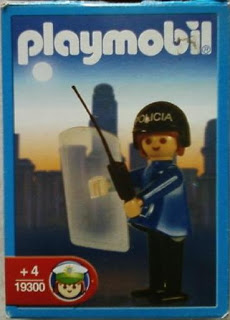 Playmobil 19300-ant - Police woman - Box