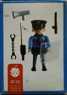 Playmobil 9743v2-ant - Policemen - Back