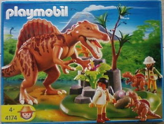Playmobil 4174 - Spinosaurus with Dino Nest and two Spinosaurus-babies - Box