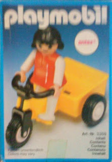Playmobil 3359-ant - Girl and Tricycle - Box