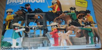Playmobil - 1004-sch - Cowboy Super Deluxe Set