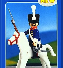 Playmobil - 1032-lyr - Royal Horseman