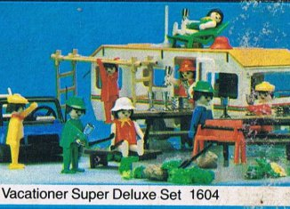 Playmobil - 1604v1-sch - Vacationer Super Deluxe Set