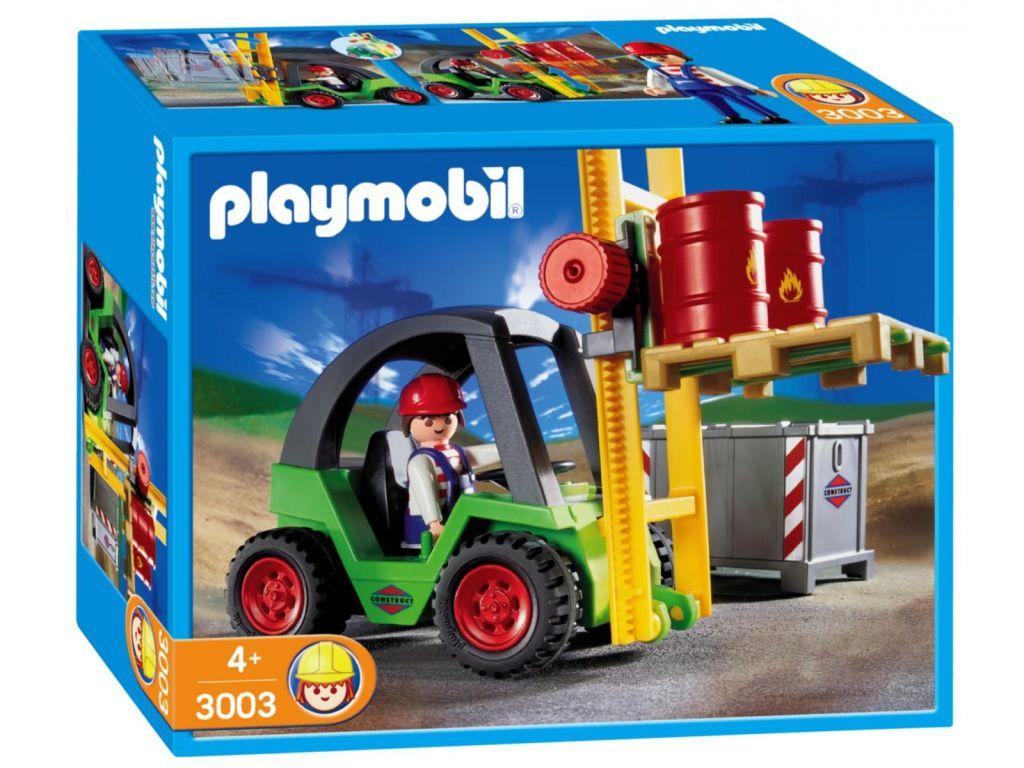Playmobil 3003 - Forklift - Box