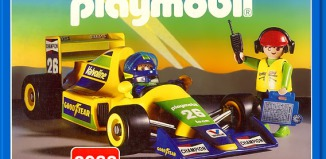 Playmobil - 3038 - Formula 1 Car