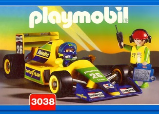 Playmobil - 3038 - Formula 1 Car