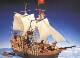 Playmobil - 3050-usa - pirate ship