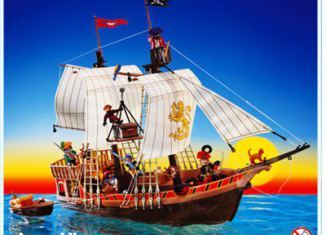 Playmobil - 3053-usa - pirate ship