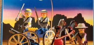 Playmobil - 3056-fra-usa - Confederate Artillery