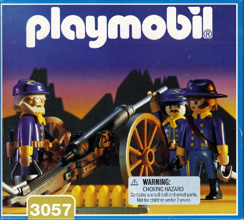 Playmobil 3057-usa - US Artillery - Box